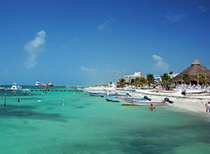 Beach of Puerto Morelos