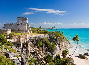 Ruins and Beach of Tulum
