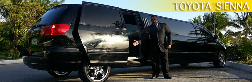 Cancun Limo Sienna Transportation Service